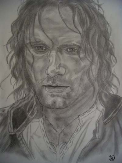 Viggo Mortensen by danidian